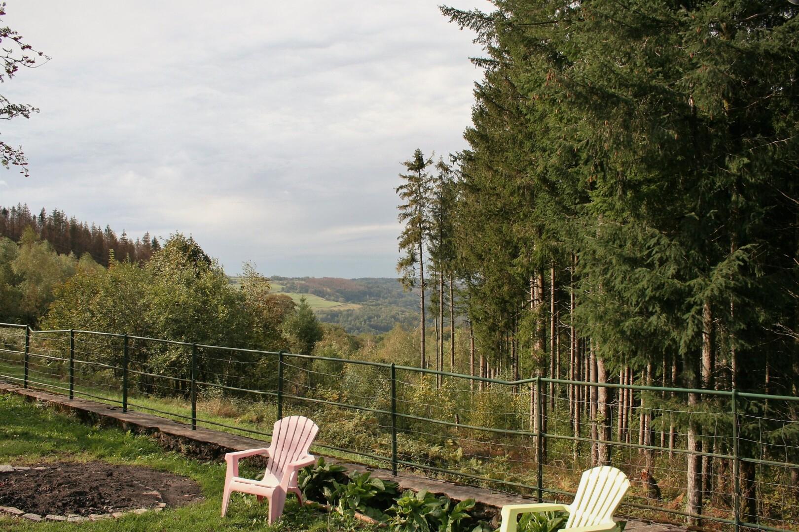 Herberg met 2 aparte gites op mooie bosrijke locatie